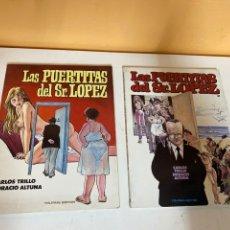 Cómics: LAS PUERTITAS DEL SR. LOPEZ. Lote 226865600