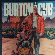 Comics: BURTON & CYB 01 A 04 (COMPLETA). ANTONIO SEGURA, JOSE ORTIZ. TOUTAIN EDITOR. Lote 227106060
