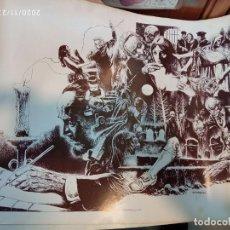 Cómics: LOTE 10 POSTERS DE AURALEON. CREEPY 1979. Lote 228237990