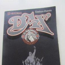 Fumetti: DAX EL GUERRERO - 12 HISTORIAS - ESTEBAN MAROTO - TOUTAIN ED. - 1979 E7. Lote 228797600