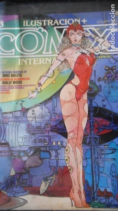 COMIX INTERNACIONAL Nº 23 (Tebeos y Comics - Toutain - Comix Internacional)