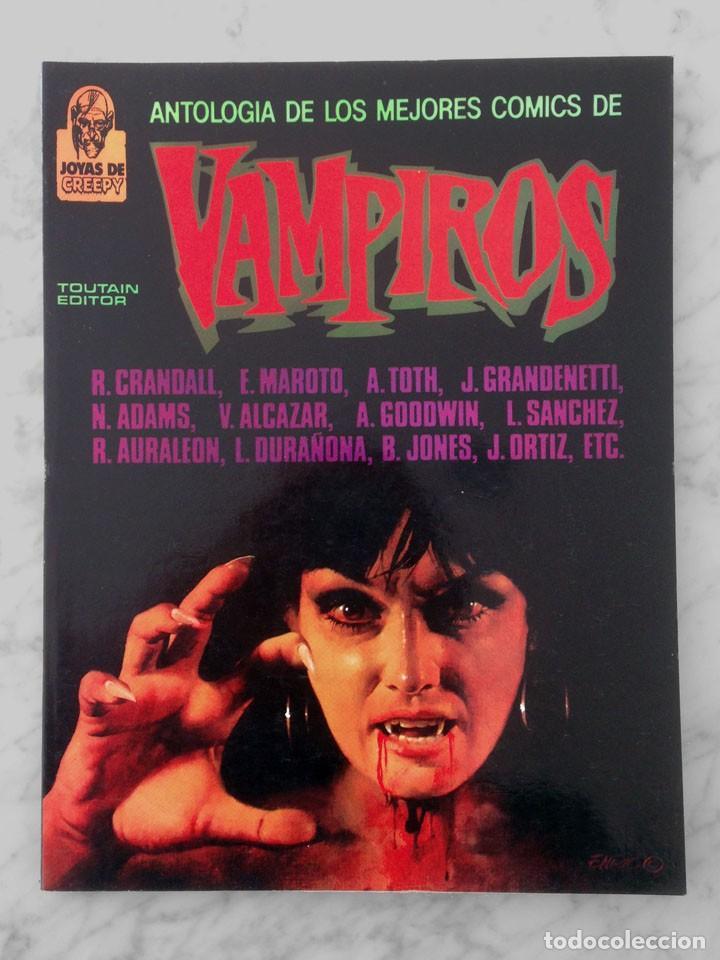 ANTOLOGIA DE LOS MEJORES COMICS DE VAMPIROS - JOYAS DE CREEPY - TOUTAIN - 1988 (Tebeos y Comics - Toutain - Creepy)