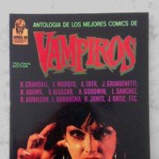 Cómics: ANTOLOGIA DE LOS MEJORES COMICS DE VAMPIROS - JOYAS DE CREEPY - TOUTAIN - 1988. Lote 229304045