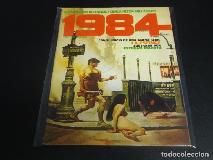 1984 SEGUNDA EDICION # 5 (Tebeos y Comics - Toutain - 1984)