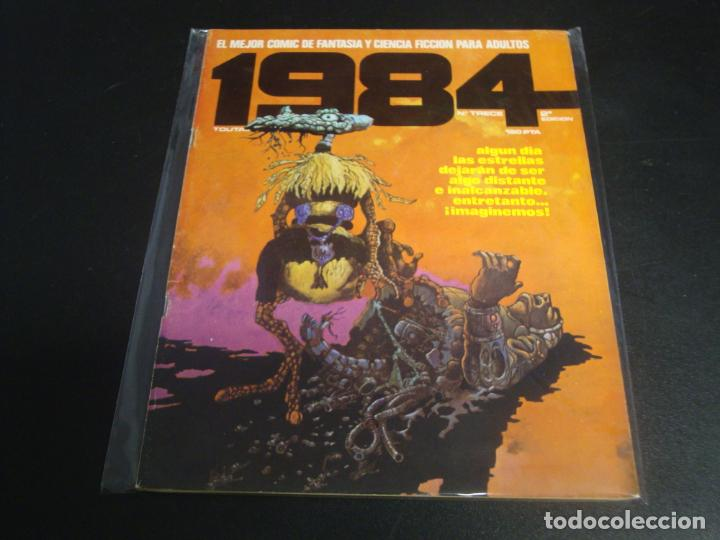 1984 SEGUNDA EDICION # 13 (Tebeos y Comics - Toutain - 1984)