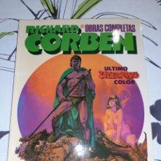 Fumetti: RICHARD CORBEN OBRAS COMPLETAS 12 ÚLTIMO UNDERGROUND. Lote 243490050