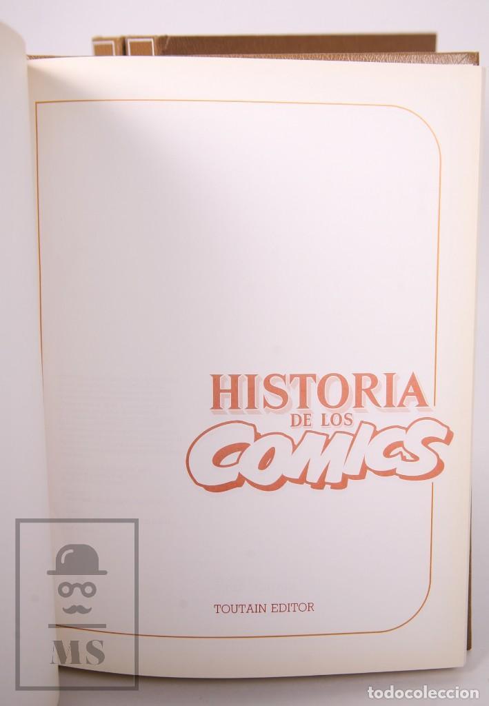 Cómics: Enciclopedia Historia de los Comics. Josep Toutain / Javier Coma - Toutain, 1982 - Foto 2 - 230020670