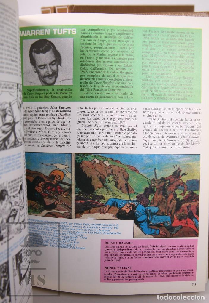 Cómics: Enciclopedia Historia de los Comics. Josep Toutain / Javier Coma - Toutain, 1982 - Foto 5 - 230020670