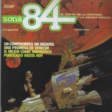 Cómics: ZONA 84. NUMEROS 1 AL 35 EXCEPTO 6 NUMEROS (FALTAN EL 6,17,23,28,30,31). TOUTAIN. Lote 230065650