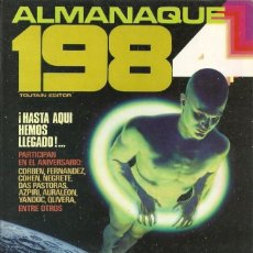 Cómics: 1984. ALMANAQUE 1984. TOUTAIN RUSTICA. Lote 230082640