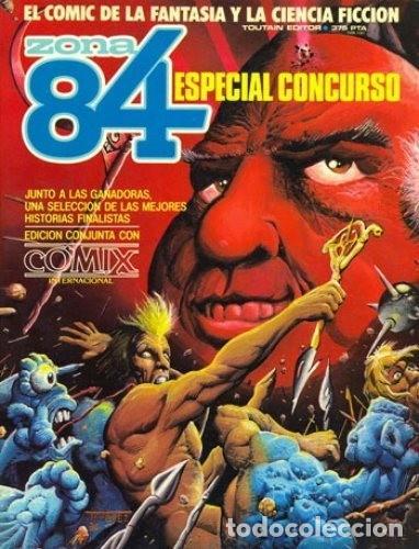 ZONA 84 ESPECIAL CONCURSO. TOUTAIN RUSTICA (Tebeos y Comics - Toutain - Álbumes)
