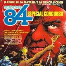 Fumetti: ZONA 84 ESPECIAL CONCURSO. TOUTAIN RUSTICA. Lote 230083070