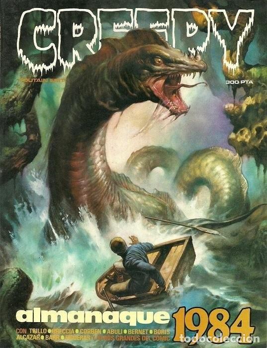 CREEPY ALMANAQUE 1984. TOUTAIN RUSTICA (Tebeos y Comics - Toutain - Álbumes)