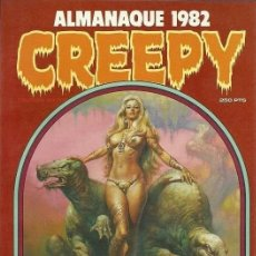 Cómics: CREEPY ALMANAQUE 1982. TOUTAIN RUSTICA. Lote 230083690