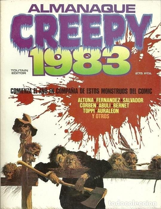CREEPY ALMANAQUE 1983. TOUTAIN RUSTICA (Tebeos y Comics - Toutain - Álbumes)