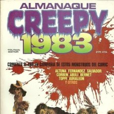Cómics: CREEPY ALMANAQUE 1983. TOUTAIN RUSTICA. Lote 230083720