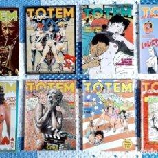 Comics: LOTE OCHO NÚMEROS TOTEM EL COMIX 39, 54, 55, 56, 57, 65, 66, 67 TOUTAIN EDITOR. Lote 230341135