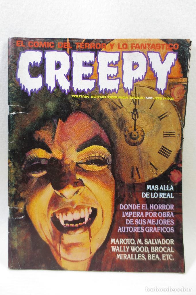 CREEPY SEGUNDA EPOCA NÚMERO 6 (Tebeos y Comics - Toutain - Creepy)