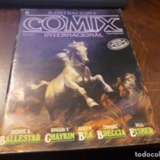 Comics: ILUSTRACIÓN + COMIX INTERNACIONAL Nº 6 TOUTAIN EDITOR. Lote 230614070