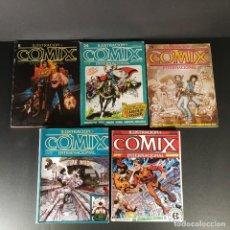 Comics: LOTE ILUSTRACIÓN + COMIX INTERNACIONAL TOUTAIN EDITOR 9 NÚMEROS. Lote 230649415