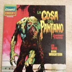 Cómics: CREEPY PRESENTA: LA COSA DEL PANTANO. Lote 230853510