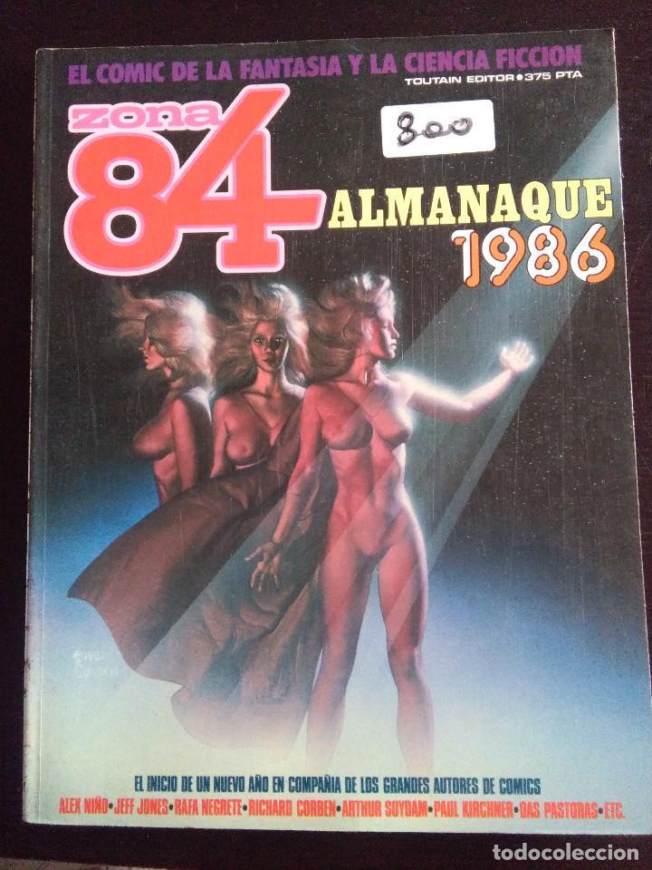 ZONA 84-ALMANAQUE 1986 (Tebeos y Comics - Toutain - Zona 84)