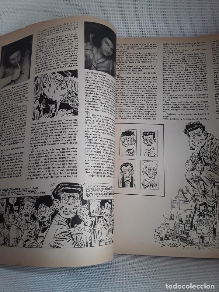 Cómics: Fan Comics 1 (1985) Román Gubern, Ramoncín, Carlos Giménez, Will Eisner, Milton Caniff - Foto 3 - 231161765