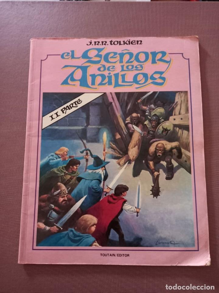 COMIC EL SEÑOR DE LOS ANILLOS, 2 PARTE (Tebeos y Comics - Toutain - Otros)