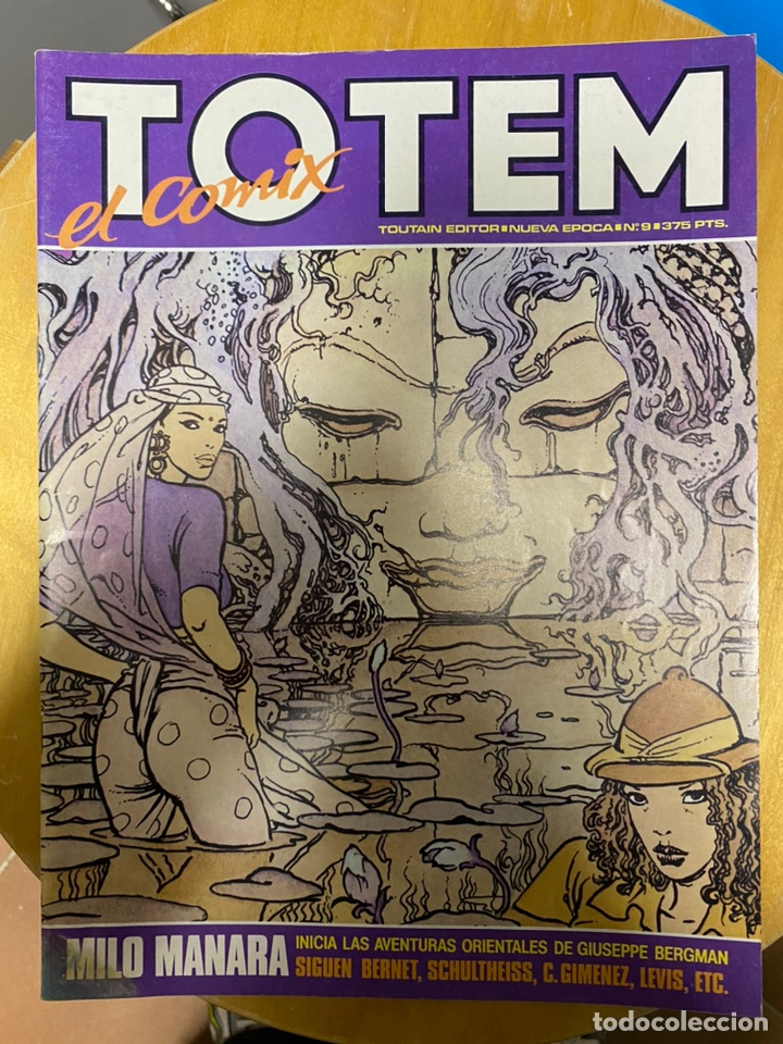 Cómics: TOTEM el Comix - Toutain - 21 números - Foto 16 - 232428345