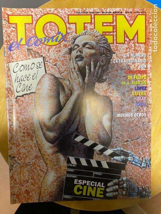 TOTEM EL COMIX - TOUTAIN - 21 NÚMEROS (Tebeos y Comics - Toutain - Otros)