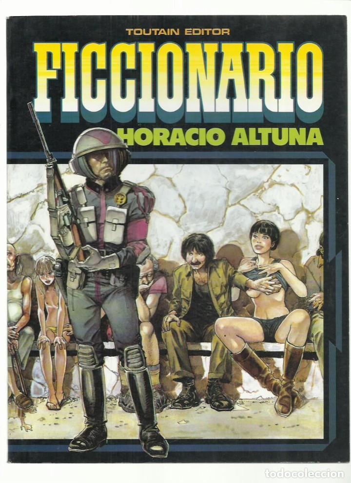 FICCIONARIO, 1985, TOUTAIN, MUY BUEN ESTADO (Tebeos y Comics - Toutain - Álbumes)
