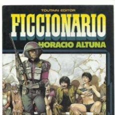 Cómics: FICCIONARIO, 1985, TOUTAIN, MUY BUEN ESTADO. Lote 232668065