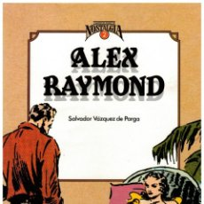 Cómics: ALEX RAYMOND -CUANDO EL COMIC ES NOSTALGIA- TOUTAIN,1983. EXCELENTE.. Lote 233593740