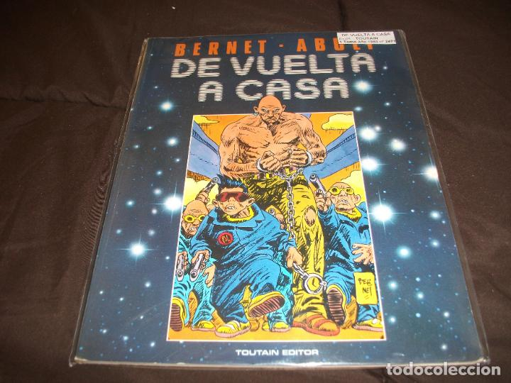 DE VUELTA A CASA TOUTAIN (Tebeos y Comics - Toutain - Álbumes)