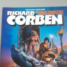 Fumetti: X PILGOR (BODYSSEY), DE CORBEN (OBRAS COMPLETAS Nº 10)(TOUTAIN). Lote 233840690