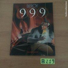 Cómics: 999 - BEROY - TOUTAIN. Lote 234023975
