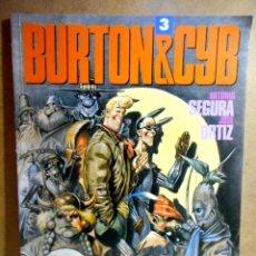 Cómics: BURTON Y CYB 3 ( TOUTAIN ) 1990. Lote 234056285