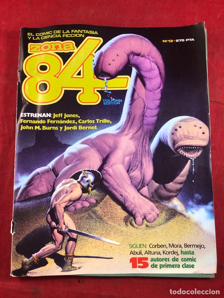 ZONA 84 NÚM 13 (Tebeos y Comics - Toutain - Zona 84)