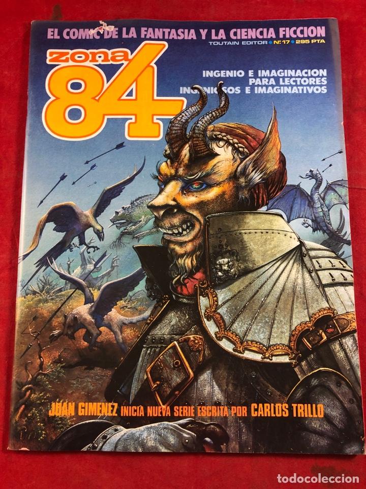 ZONA 84 NÚM 17 (Tebeos y Comics - Toutain - Zona 84)