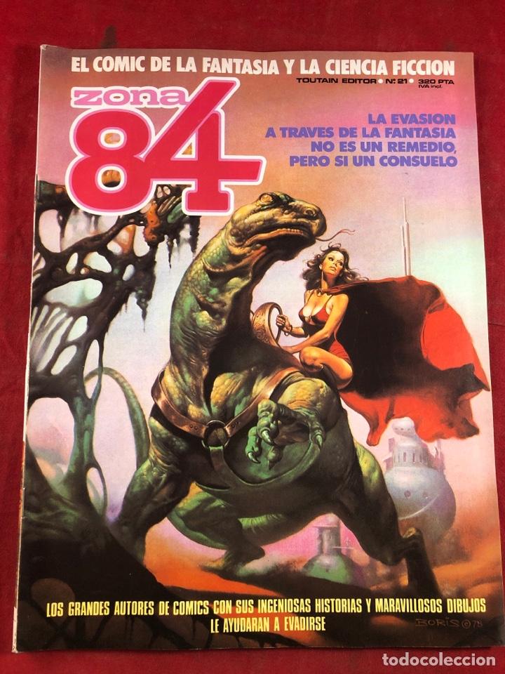 ZONA 84 NÚM 21 (Tebeos y Comics - Toutain - Zona 84)