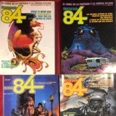 Cómics: 4 NÚMEROS DE ZONA 84. Lote 234273160