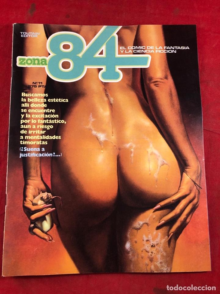 ZONA 84 NÚM 11 (Tebeos y Comics - Toutain - Zona 84)