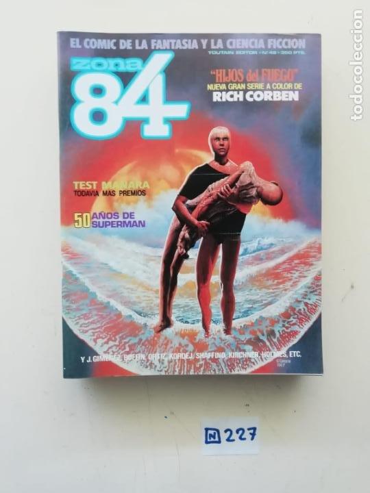 ZONA 84 (Tebeos y Comics - Toutain - Zona 84)
