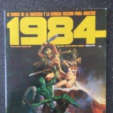 Cómics: 1984 - Nº 45 - REVISTA DE CÓMIC - 1ª EDICION - TOUTAIN - 1982 - ¡MUY BUEN ESTADO!. Lote 234869875