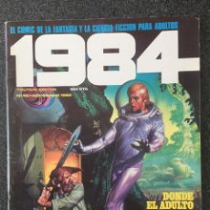 Cómics: 1984 - Nº 46 - REVISTA DE CÓMIC - 1ª EDICION - TOUTAIN - 1982 - ¡MUY BUEN ESTADO!. Lote 234870330