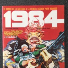 Cómics: 1984 - Nº 52 - REVISTA DE CÓMIC - 1ª EDICION - TOUTAIN - 1983 - ¡COMO NUEVO!. Lote 234873950
