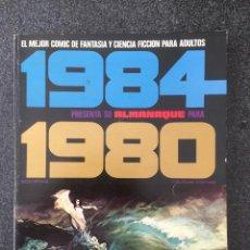 Cómics: 1984 - ALMANAQUE 1980 - REVISTA DE CÓMIC - 1ª EDICION - TOUTAIN - 1979 - ¡MUY BUEN ESTADO!. Lote 234885955