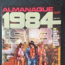 Cómics: 1984 - ALMANAQUE 1983 - REVISTA DE CÓMIC - 1ª EDICION - TOUTAIN - 1982 - ¡COMO NUEVO!. Lote 234887415