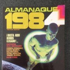 Cómics: 1984 - ALMANAQUE 1984 - REVISTA DE CÓMIC - 1ª EDICION - TOUTAIN - 1983 - ¡COMO NUEVO!. Lote 234887720