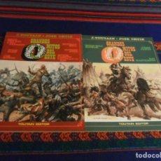 Cómics: GRANDES MITOS DEL OESTE NºS 1 Y 2 COMPLETA. TOUTAIN EDITOR 1987. BUEN ESTADO EN RÚSTICA.. Lote 235020235